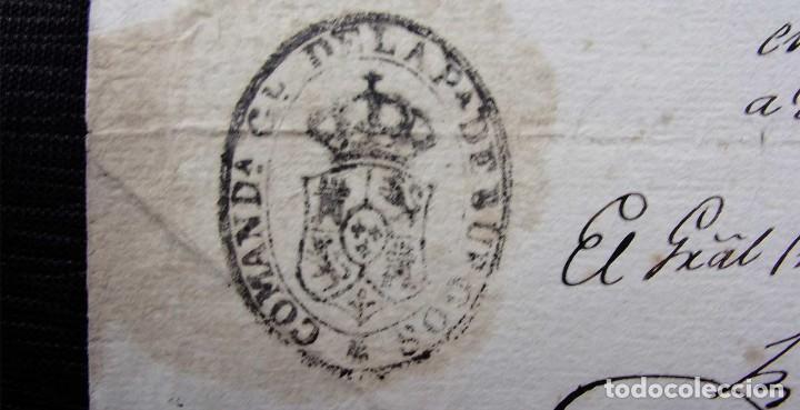 Manuscritos antiguos: REGIDOR PERPETUO. BURGOS. AÑO: 1883. SOLDADO REGIMIENTO CABALLERÍA DEL PRÍNCIPE TERCERO DE LINEA - Foto 3 - 128030351