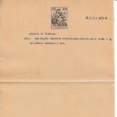 Manuscritos antiguos: SERIE 1940 - 55 PAPEL SELLADO FISCAL ADMINISTRACIONON DE JUSTICIA CLASE 13ª 0,25 PTAS. TIMBROLOGIA . Lote 128577951