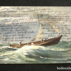 Manuscritos antiguos: POEMA ESCRITO A MANO Y FIRMADO POR LA ESCRITORA Y POETISA CAROLINA DE SOTO Y CORRO. AÑO 1920. . Lote 128618087