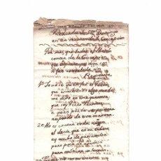 Manuscritos antiguos: GIRONA. SERMÓN DE LA CONCEPCIÓN. 8 DE DICIEMBRE DE 1789.. Lote 128796115