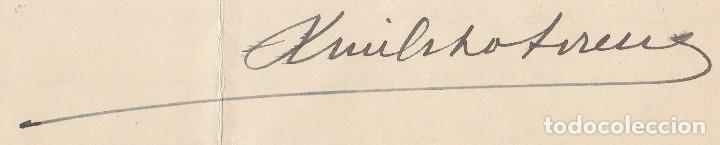 Manuscritos antiguos: 1952 ARANJUEZ. CARTA MEMBRETE REGIMIENTO DRAGONES DE PAVIA 4 CORONEL LUIS OCHOTORENA SANCHEZ FIRMA - Foto 4 - 130263916