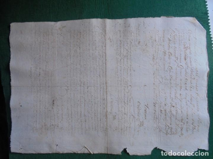 Manuscritos antiguos: CARLOS III DOCUMENTO EN PAPEL TIMBRADO,SELLO CUARTO,20 MARAVEDIS,AÑO 1779, 1 PLIEGO,FIRMADO - Foto 3 - 131040508