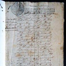 Manuscritos antiguos: SEVILLA.'TITULO DE VEINTICUATRO PERPETUO' 1707.JUAN Y MANUEL NUÑEZ DE PRADOS Y MALDONADO. Lote 131982586