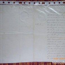 Manuscritos antiguos: MALAGA, CARTA, DIRIGIDA A SR, MINISTRO DE FOMENTO POR, D. JULIO K. VALCACER, 1898. Lote 132825542