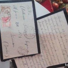 Manuscritos antiguos: CARTA LINARES. Lote 132985026
