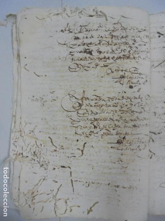 Manuscritos antiguos: QUERELLA POR ESTUPRO DE BEATUS DE JIBEZA CONTRA FRANCISCO DESPINOSSA. CÁDIZ 1594. VER FOTOS - Foto 29 - 133185418