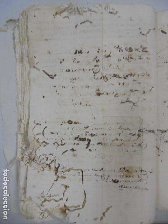 Manuscritos antiguos: QUERELLA POR ESTUPRO DE BEATUS DE JIBEZA CONTRA FRANCISCO DESPINOSSA. CÁDIZ 1594. VER FOTOS - Foto 35 - 133185418