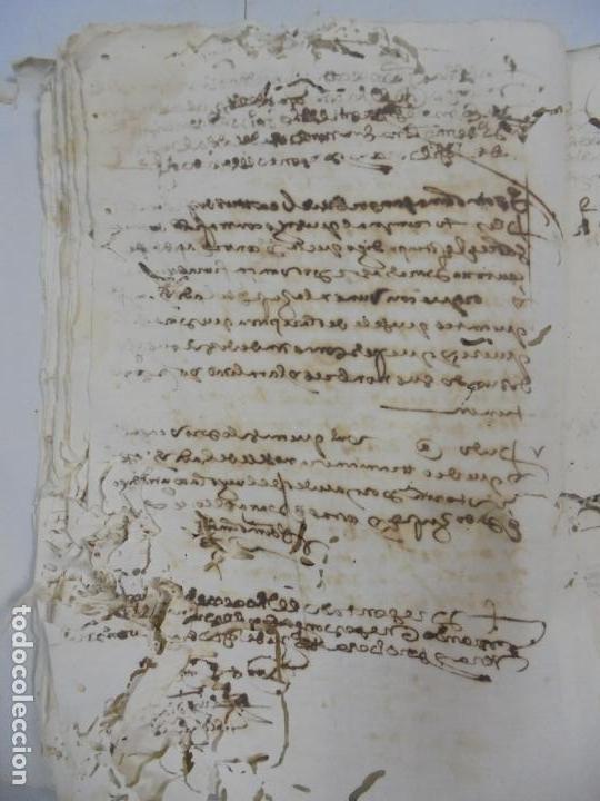 Manuscritos antiguos: QUERELLA POR ESTUPRO DE BEATUS DE JIBEZA CONTRA FRANCISCO DESPINOSSA. CÁDIZ 1594. VER FOTOS - Foto 39 - 133185418