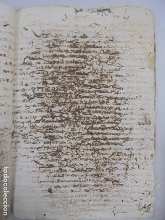 Manuscritos antiguos: QUERELLA POR ESTUPRO DE BEATUS DE JIBEZA CONTRA FRANCISCO DESPINOSSA. CÁDIZ 1594. VER FOTOS - Foto 46 - 133185418