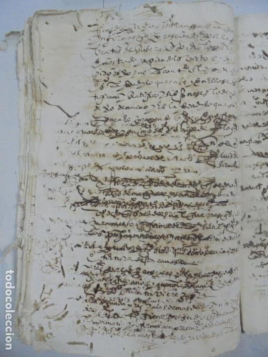 Manuscritos antiguos: QUERELLA POR ESTUPRO DE BEATUS DE JIBEZA CONTRA FRANCISCO DESPINOSSA. CÁDIZ 1594. VER FOTOS - Foto 52 - 133185418