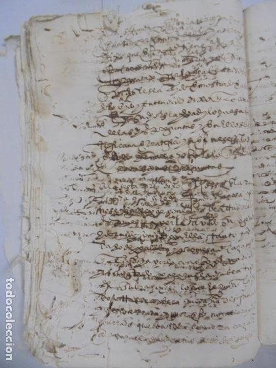 Manuscritos antiguos: QUERELLA POR ESTUPRO DE BEATUS DE JIBEZA CONTRA FRANCISCO DESPINOSSA. CÁDIZ 1594. VER FOTOS - Foto 57 - 133185418