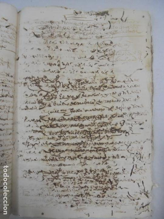 Manuscritos antiguos: QUERELLA POR ESTUPRO DE BEATUS DE JIBEZA CONTRA FRANCISCO DESPINOSSA. CÁDIZ 1594. VER FOTOS - Foto 65 - 133185418