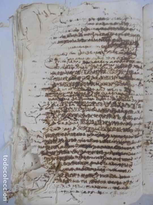 Manuscritos antiguos: QUERELLA POR ESTUPRO DE BEATUS DE JIBEZA CONTRA FRANCISCO DESPINOSSA. CÁDIZ 1594. VER FOTOS - Foto 66 - 133185418