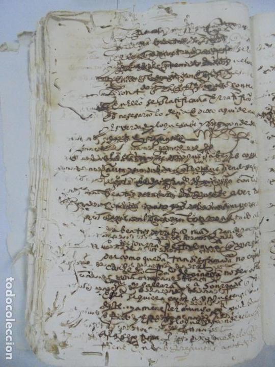 Manuscritos antiguos: QUERELLA POR ESTUPRO DE BEATUS DE JIBEZA CONTRA FRANCISCO DESPINOSSA. CÁDIZ 1594. VER FOTOS - Foto 67 - 133185418