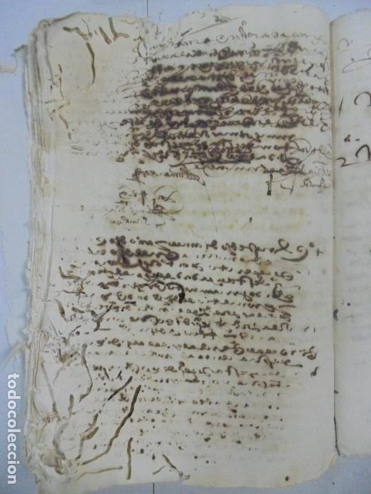 Manuscritos antiguos: QUERELLA POR ESTUPRO DE BEATUS DE JIBEZA CONTRA FRANCISCO DESPINOSSA. CÁDIZ 1594. VER FOTOS - Foto 74 - 133185418