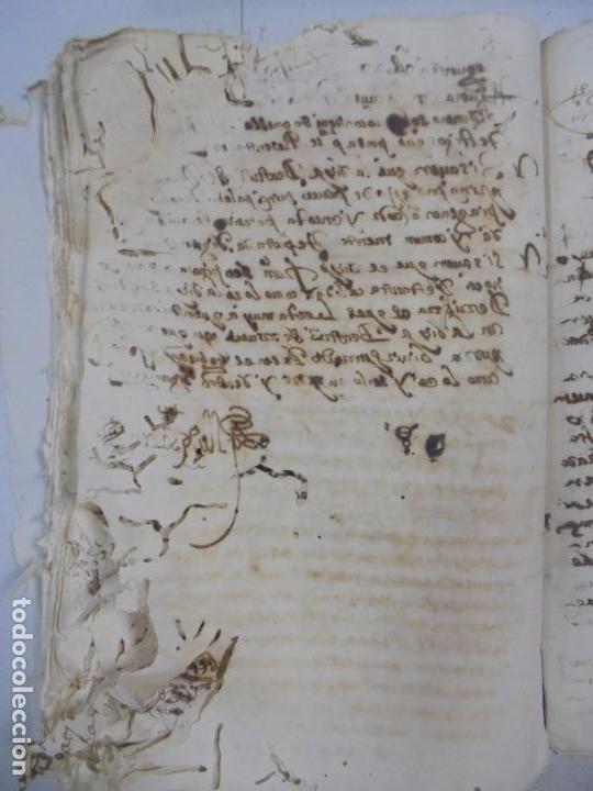 Manuscritos antiguos: QUERELLA POR ESTUPRO DE BEATUS DE JIBEZA CONTRA FRANCISCO DESPINOSSA. CÁDIZ 1594. VER FOTOS - Foto 77 - 133185418