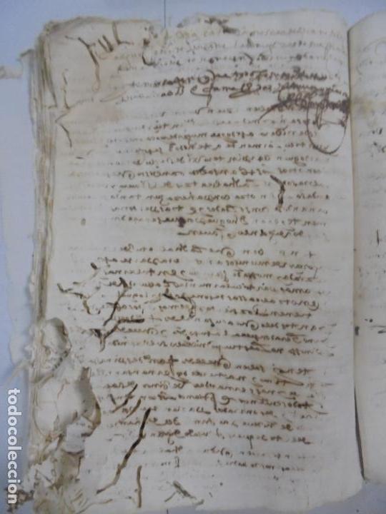 Manuscritos antiguos: QUERELLA POR ESTUPRO DE BEATUS DE JIBEZA CONTRA FRANCISCO DESPINOSSA. CÁDIZ 1594. VER FOTOS - Foto 84 - 133185418