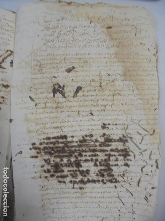 Manuscritos antiguos: QUERELLA POR ESTUPRO DE BEATUS DE JIBEZA CONTRA FRANCISCO DESPINOSSA. CÁDIZ 1594. VER FOTOS - Foto 92 - 133185418