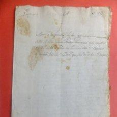 Manuscritos antiguos: MANUSCRITO MARTÍN MUÑOZ POSADAS ( SEGOVIA ) POSESIÓN BIENES T BADILLO A BURGOS 1612. Lote 134053978