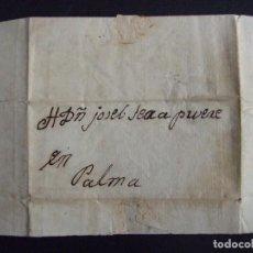Manuscritos antiguos: CARTA MANUSCRITA DE MAGDALENA TOUS PARA JOSE SERRA PRUNERE - CIRCA 1850 SOLLER MALLORCA. Lote 135256410