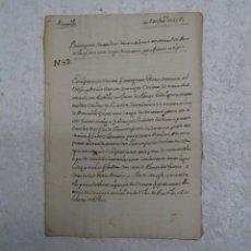Manuscritos antiguos: MANUSCRITO SIGLO XVI (1580) EN CASTELLANO, ESCRITURA DE VENTA BERMILLO (ZAMORA )MUY BUEN ESTADO. Lote 135436582