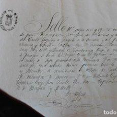 Manuscritos antiguos: CAPITAN FRAGATA DEL PUERTO DE MANILA Y CAVITE,, VAPOR CORREO SAN IGNACIO, 1889. Lote 135493702
