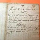 Manuscritos antiguos: MANUSCRITO. PAMPLONA. AÑO 1797. TRASLADO DE UN CENSAL DE 3.000 PESOS.. Lote 135521682