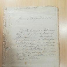 Manuscritos antiguos: TORTELLÀ - CAN PARELLA - 1872 DOT MATRIMONIAL. Lote 136411064