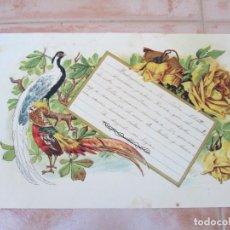 Manuscritos antiguos: CARTA MANUSCRITA DE UN ALUMNO A SUS FAMILIARES, MADRIGUERAS, JULIO DEL AÑO 1912.. Lote 137777178