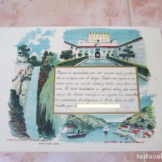 Manuscritos antiguos: CARTA MANUSCRITA DE UN ALUMNO A SUS FAMILIARES, MADRIGUERAS, JULIO DEL AÑO 1912.. Lote 137777426
