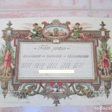 Manuscritos antiguos: CARTA MANUSCRITA DE UN ALUMNO A SUS FAMILIARES, MADRIGUERAS, PRIMERA DÉCADA DEL SIGLO XX.. Lote 137778502