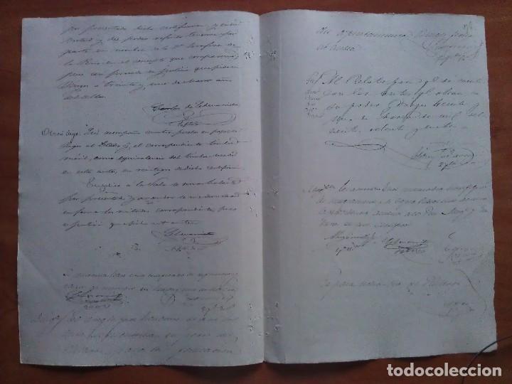 Manuscritos antiguos: 1884 CUESTIÓN HEREDITARIA - BURGOS - Foto 2 - 138528646