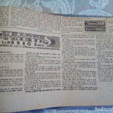 Manuscritos antiguos: 'VEINTE DUROS, HISTORIA DE UN BILLETE DE CIEN PESETAS'. EJEMPLAR ÚNICO. Lote 139616046