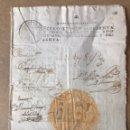 Manuscritos antiguos: FIRMA O AUTOGRAFO MANUAL DE CARLOS III 1760. Lote 140398834