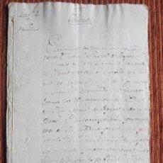Manuscritos antiguos: 1559-CORTIJO DE PEÑAS BERMEJAS.ILLORA.GRANADA.ORIGINAL. JUAN GARCÍA DE LOPERA. Lote 140431958