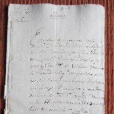 Manuscritos antiguos: 1550-CORTIJO DE PEÑAS BERMEJAS.ILLORA.GRANADA.ORIGINAL. FRANCISCO DE NAVAS. Lote 140432242