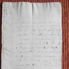 Manuscritos antiguos: 1548-CORTIJO DE PEÑAS BERMEJAS.ILLORA.GRANADA.ORIGINAL. PEDRO DE BAEZA. Lote 140432830