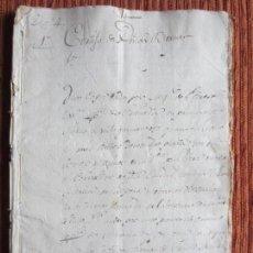 Manuscritos antiguos: 1548-CORTIJO DE PEÑAS BERMEJAS.ILLORA.GRANADA.ORIGINAL.CORREGIDOR GRANADA CONTRA JUAN DE LOPERA. Lote 140433566