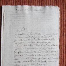 Manuscritos antiguos: 1518-CORTIJO DE PEÑAS BERMEJAS.ILLORA.GRANADA.ORIGINAL.DIEGO HERNÁNDEZ DE ALCARAZ.POST-INCUNABLE. Lote 140434226