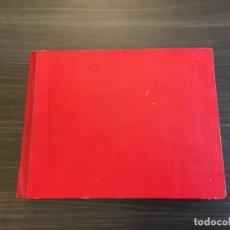 Manuscritos antiguos: ELABORADO TRABAJO EL ARTE A TRAVES DE LA HISTORIA / CURSO 6º / 1963-64 / UNICO / 320 IMAGENES. Lote 140896994