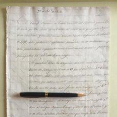 Manuscritos antiguos: CRIA CABALLAR- CONSEJO SUPERIOR DE GUERRA- MALAGA 1.806. Lote 141213854