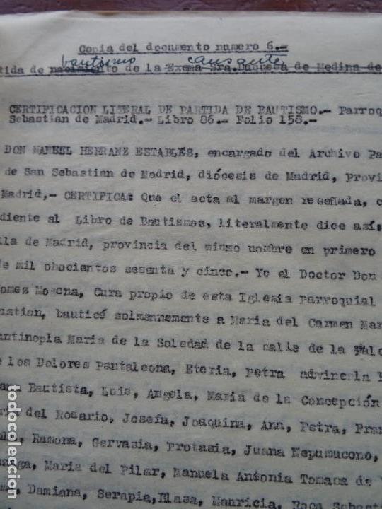 Manuscritos antiguos: Demanda Duquesa Medina Rioseco vs Capuchinos impugnando testamento Condesa de Gavia, 1949 - Foto 6 - 141548766