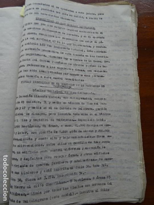 Manuscritos antiguos: Demanda Duquesa Medina Rioseco vs Capuchinos impugnando testamento Condesa de Gavia, 1949 - Foto 12 - 141548766