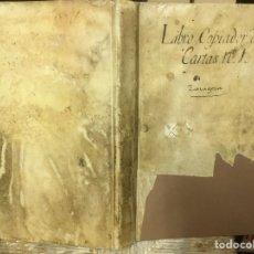 Manuscritos antiguos: COPIADOR DE CARTAS COMERCIALES EN PLENA GUERRA DE LA INDEPENDENCIA ENTRE FRANCIA Y ESPAÑA. Lote 141756557