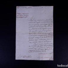 Manuscritos antiguos: CONDE DE BALAZOTE. REQUISITORIA A LA JUSTICIA DEL LUGAR CARBONERO LA MAYOR 1774. Lote 143706390