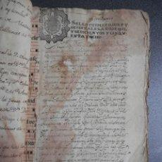 Manuscritos antiguos: MANUSCRITO AÑO 1658 FISCAL 1º RARO MONFORTE LEMOS LUGO FORTALEZA ARCOS 67 PAGS. Lote 146302450