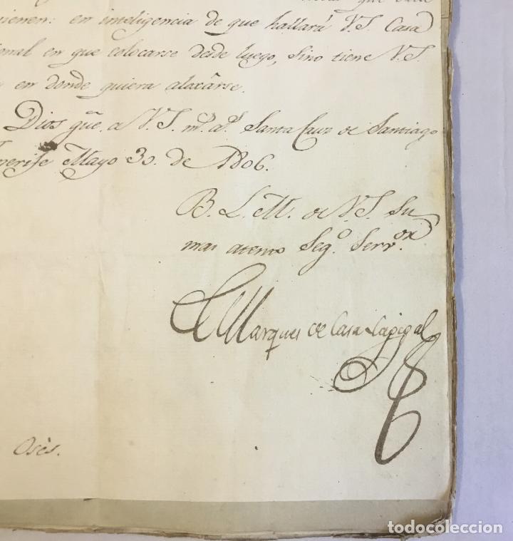 Manuscritos antiguos: [MISCELÁNEA DOCUMENTAL SOBRE LA CARRERA DE UN FISCAL DE LA AUDIENCIA ESPAÑOLA EN CANARIAS Y MÉXICO]. - Foto 4 - 146394866