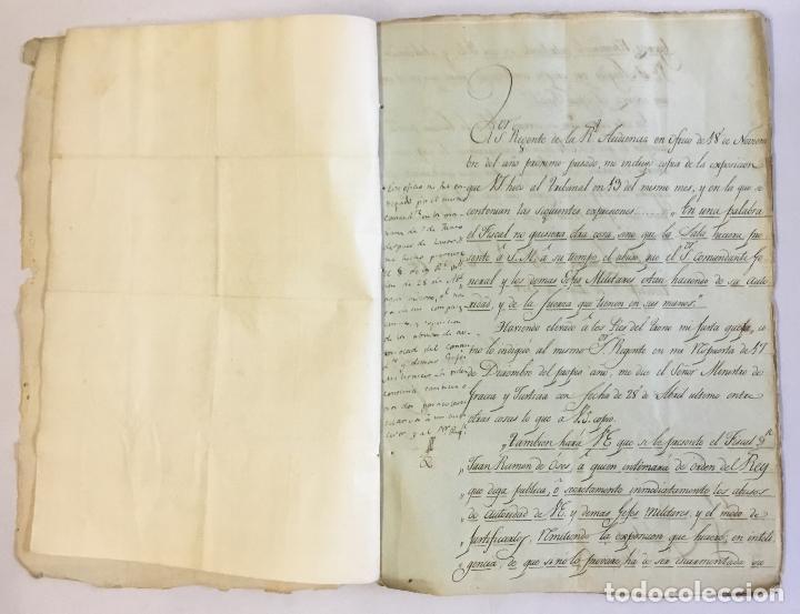 Manuscritos antiguos: [MISCELÁNEA DOCUMENTAL SOBRE LA CARRERA DE UN FISCAL DE LA AUDIENCIA ESPAÑOLA EN CANARIAS Y MÉXICO]. - Foto 5 - 146394866