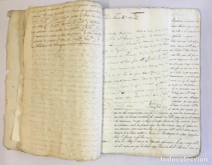 Manuscritos antiguos: [MISCELÁNEA DOCUMENTAL SOBRE LA CARRERA DE UN FISCAL DE LA AUDIENCIA ESPAÑOLA EN CANARIAS Y MÉXICO]. - Foto 7 - 146394866