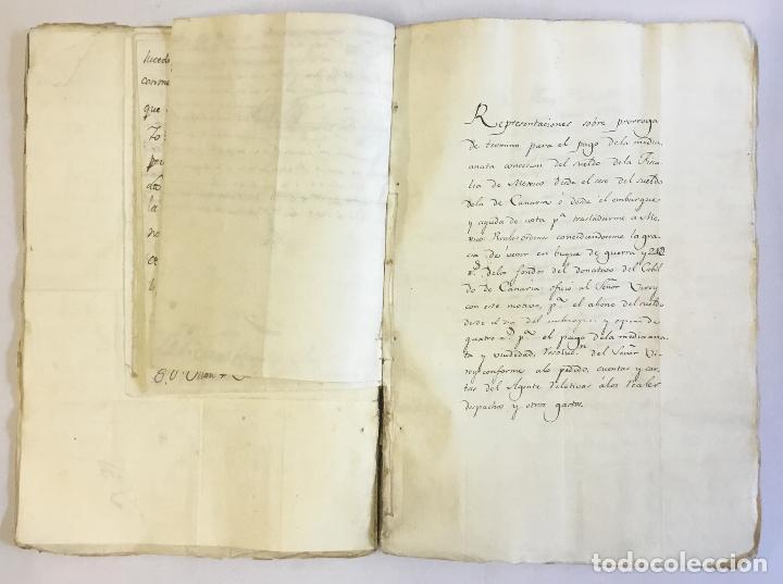 Manuscritos antiguos: [MISCELÁNEA DOCUMENTAL SOBRE LA CARRERA DE UN FISCAL DE LA AUDIENCIA ESPAÑOLA EN CANARIAS Y MÉXICO]. - Foto 8 - 146394866